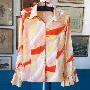 M MILANO Colorful Blouse